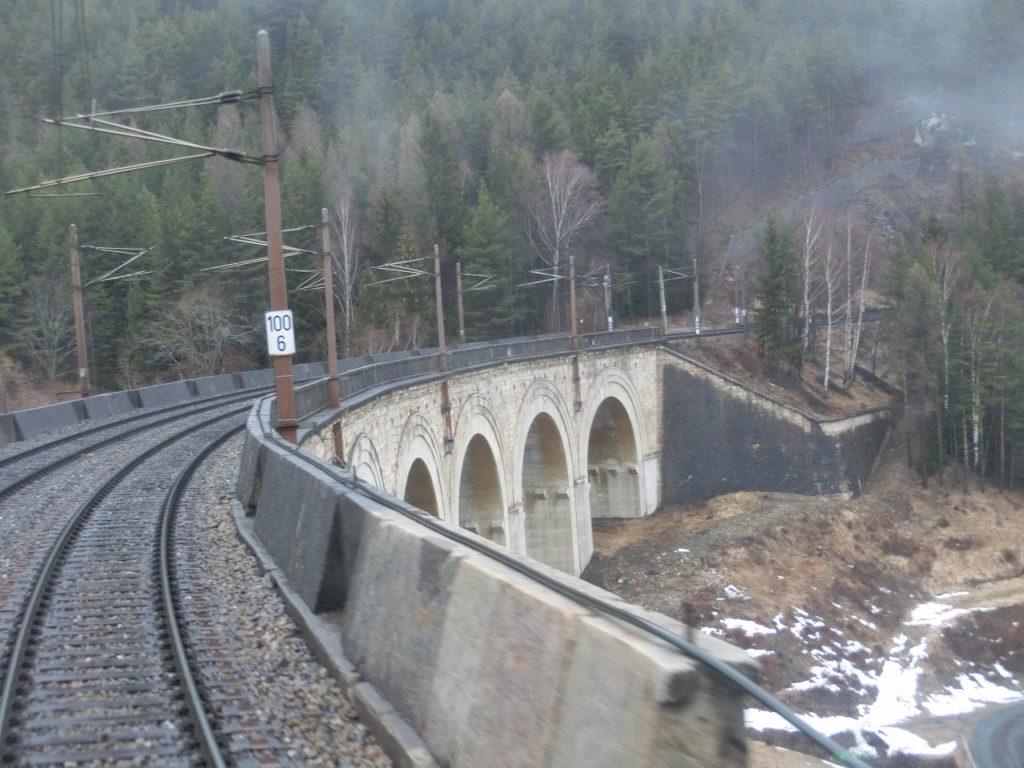セメリング鉄道の建造物