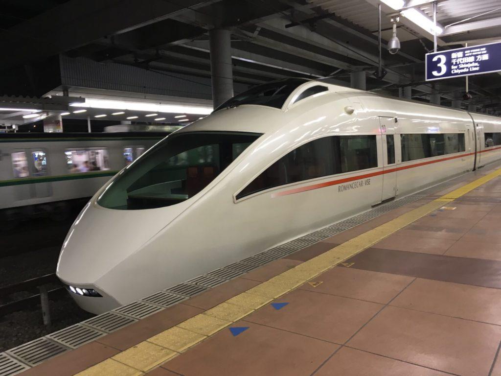 小田急50000形ロマンスカー「VSE」