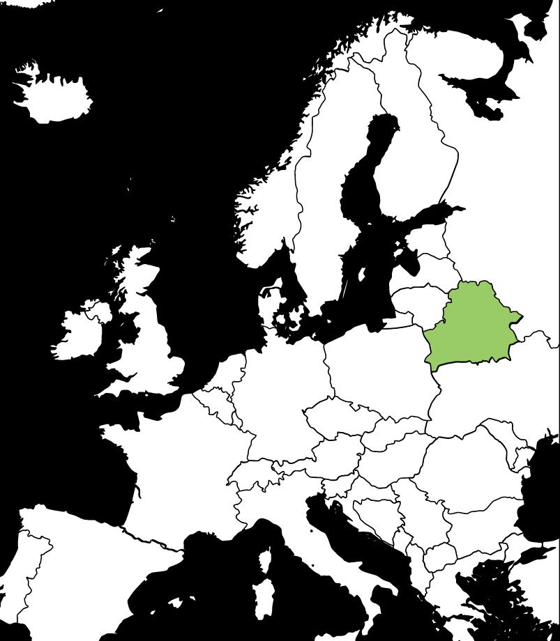 ベラルーシの場所