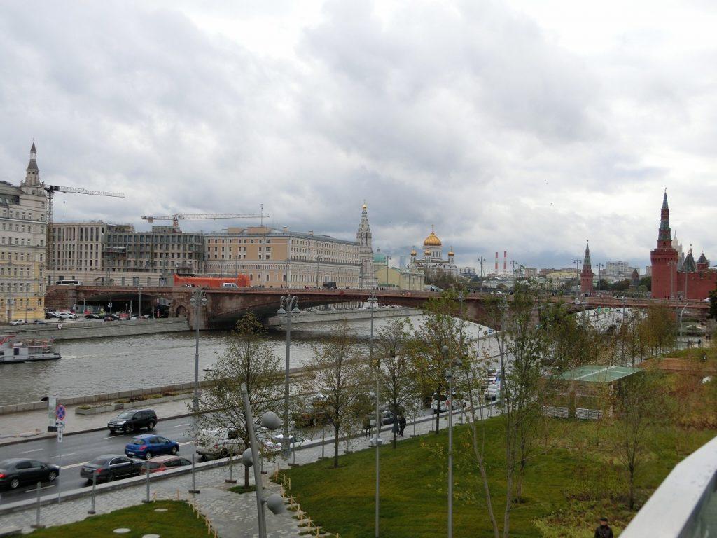 モスクワの中心部