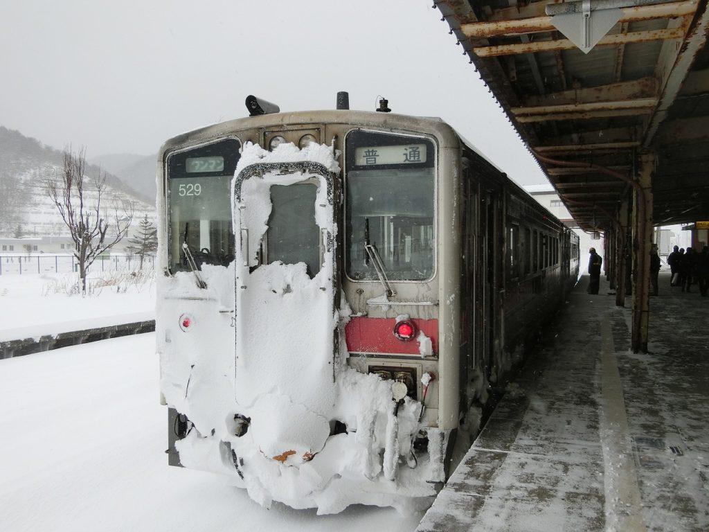 留萌本線のキハ54