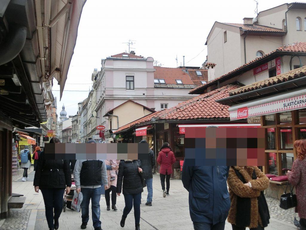 アジアとヨーロッパが隣り合う街、ボスニアヘルツェゴビナの首都サラエボ。