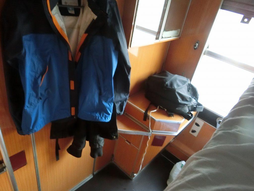 バール鉄道の個室寝台車