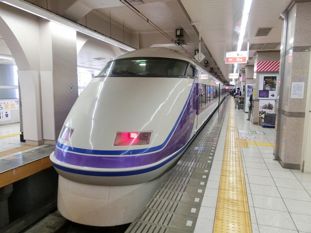 浅草駅のスペーシア