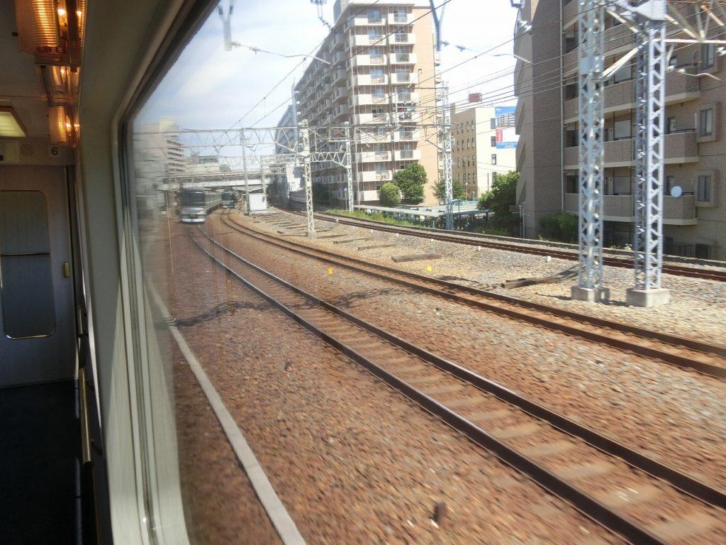 東武鉄道の複々線区間