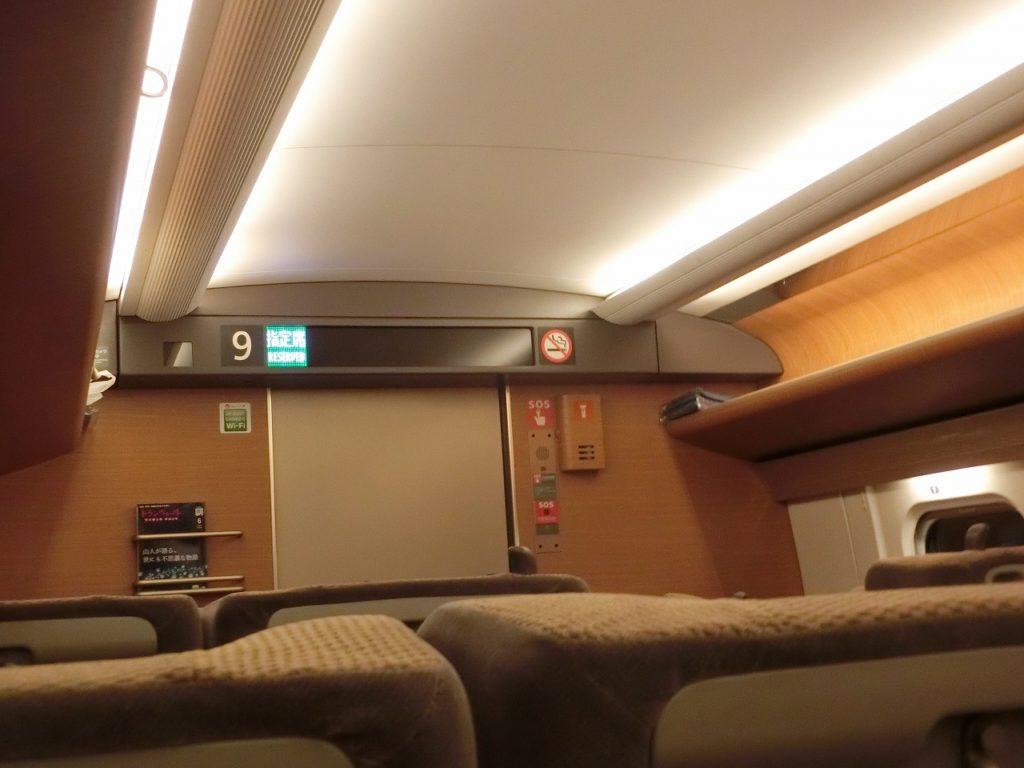 E5系グリーン車の内装