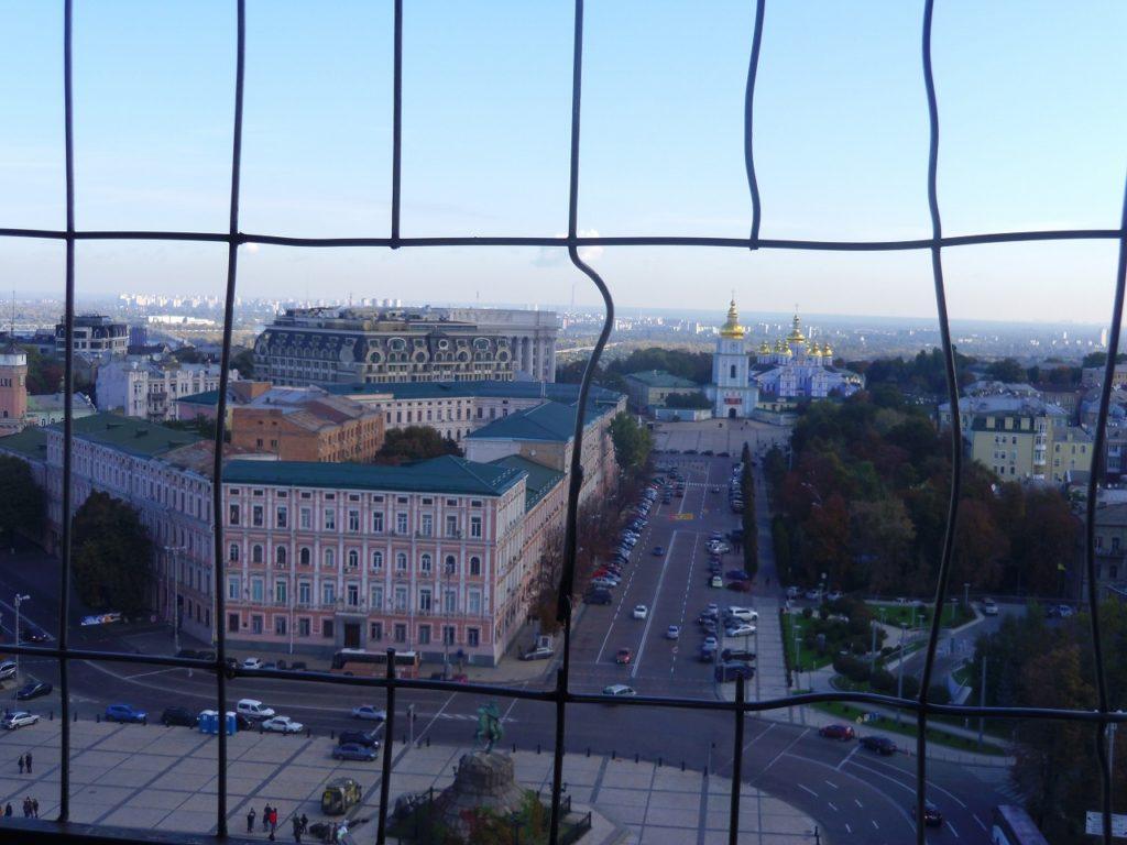 ウクライナの首都キエフの風景