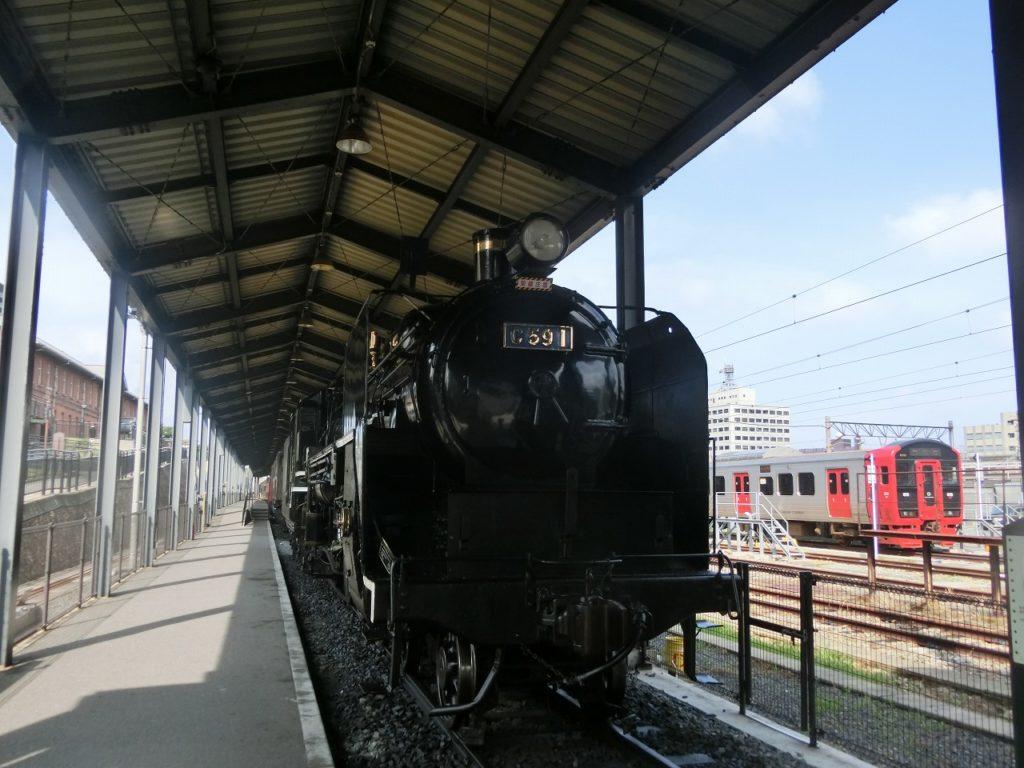 九州鉄道記念館のSL