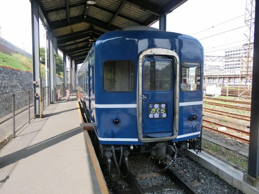 九州鉄道記念館の14系客車