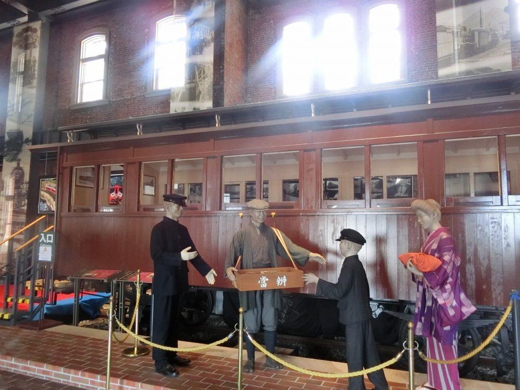 九州鉄道記念館の明治時代の客車
