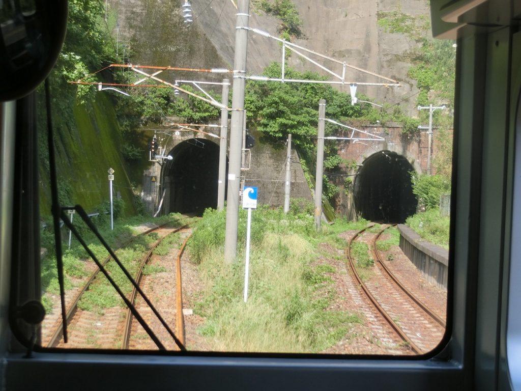 日豊本線のトンネル