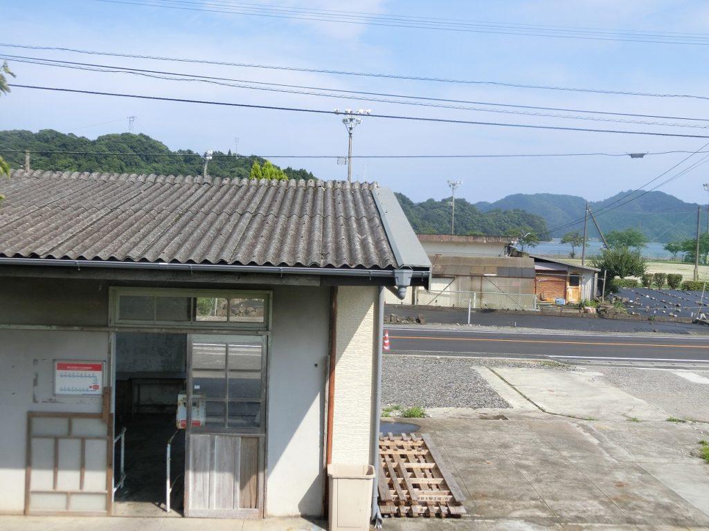 日豊本線の長閑な漁村の駅
