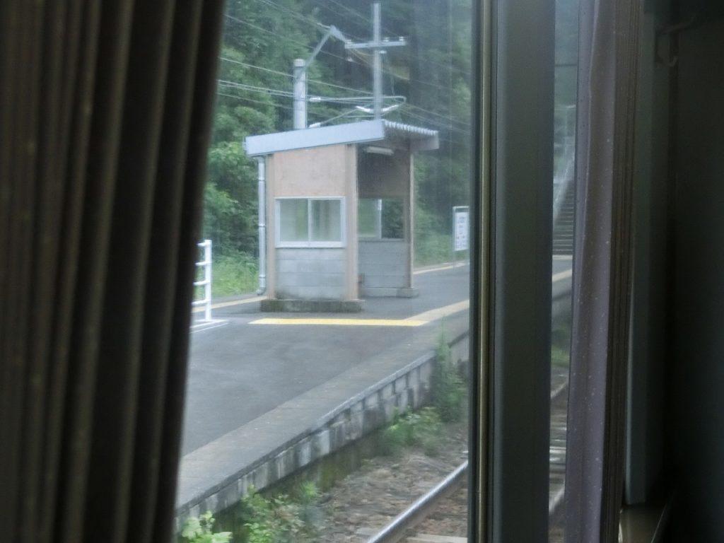 日豊本線の佐伯・延岡間の途中駅