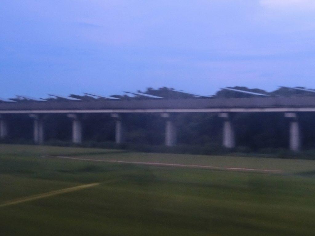 リニアモーターカーの宮崎実験線