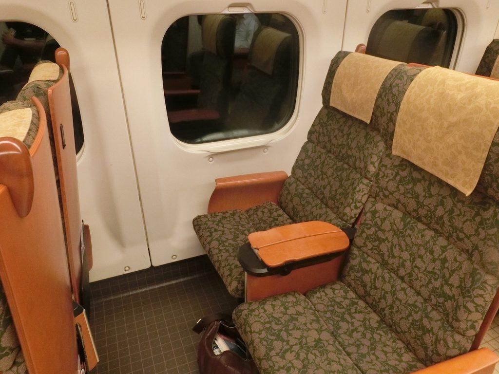 800系新幹線の座席