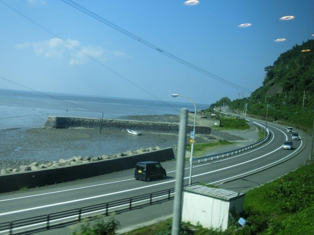 長崎本線の車窓