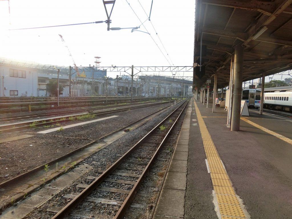 長崎駅の構内