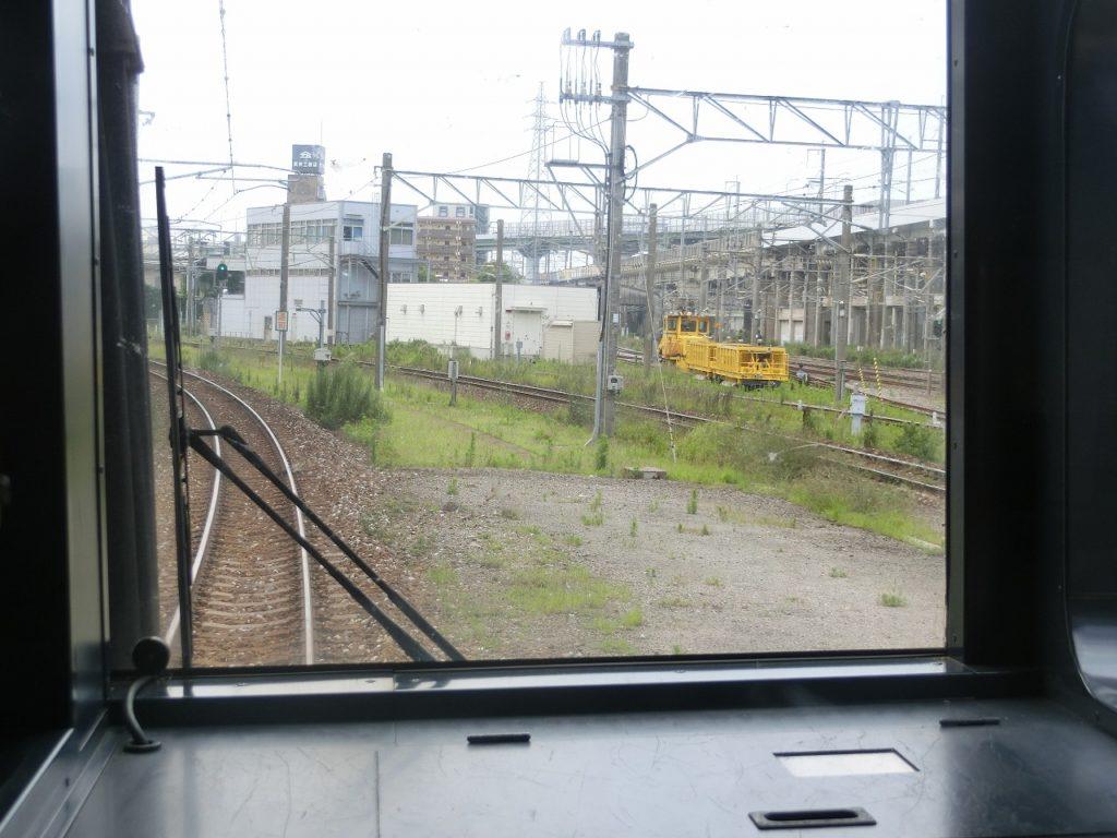 鹿児島本線と日豊本線が西小倉駅で分岐