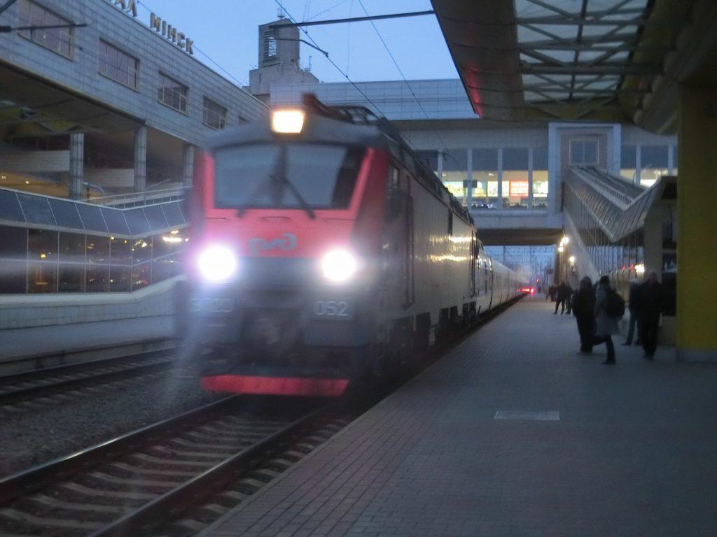 モスクワ発ベルリン行き夜行列車