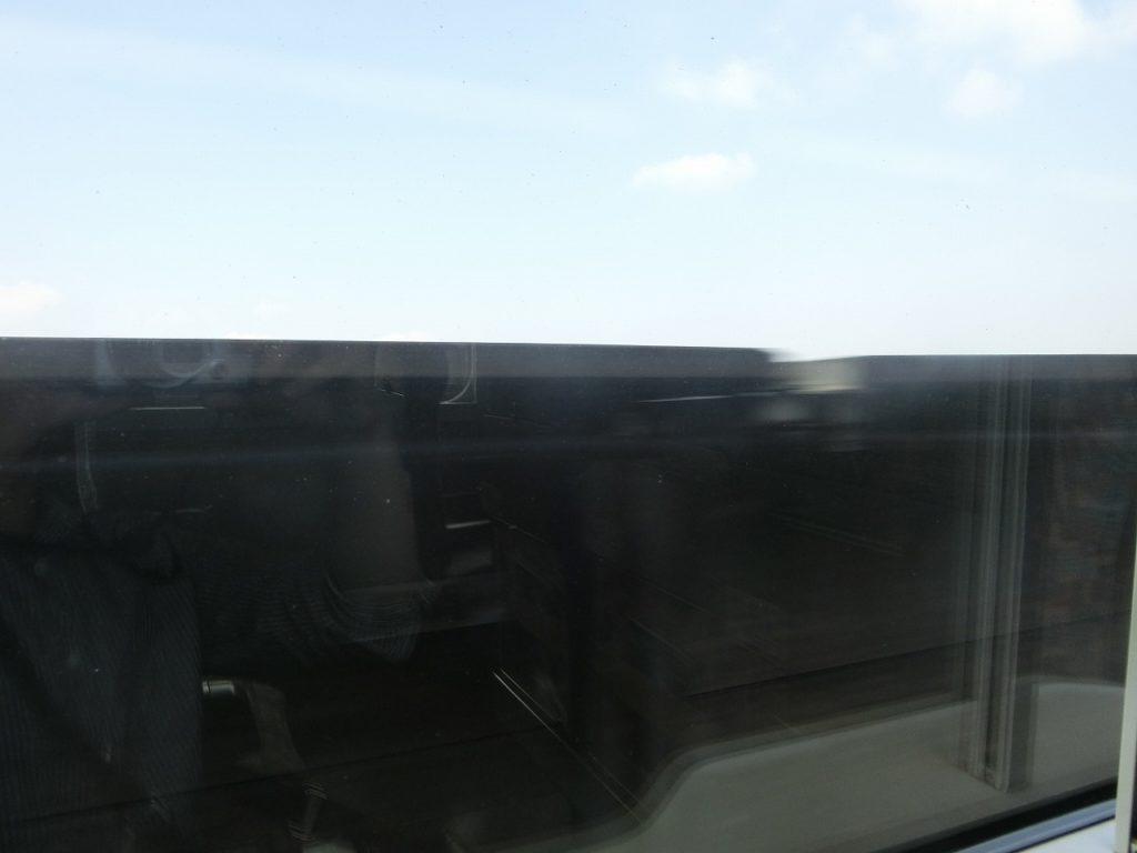 E4系の1階席からの車窓