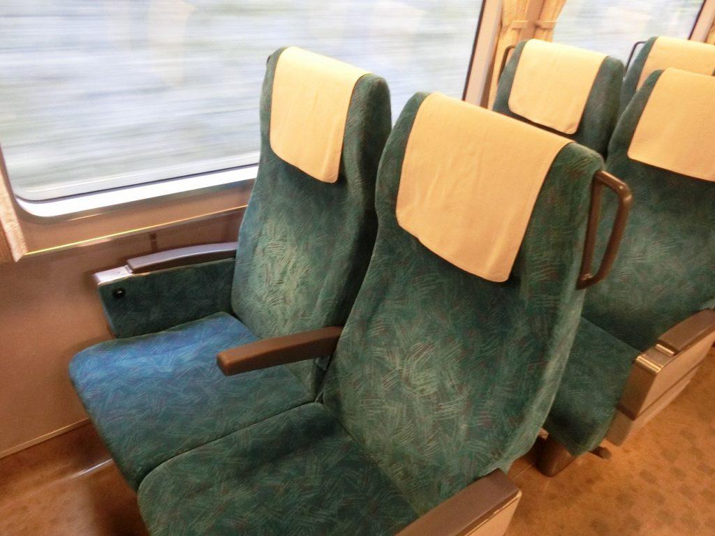 283系普通車の座席
