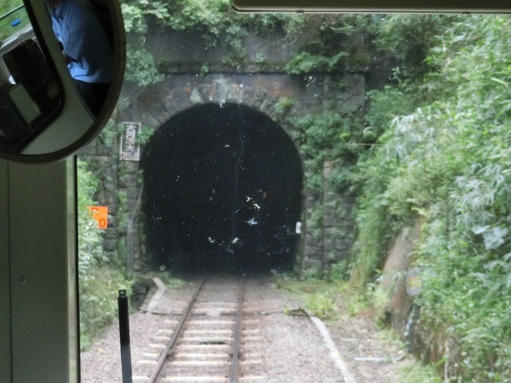 関西本線の古いトンネル