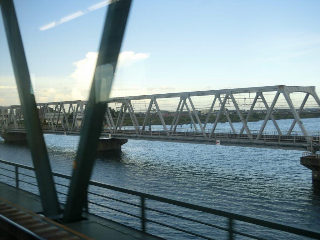 関西本線の鉄橋
