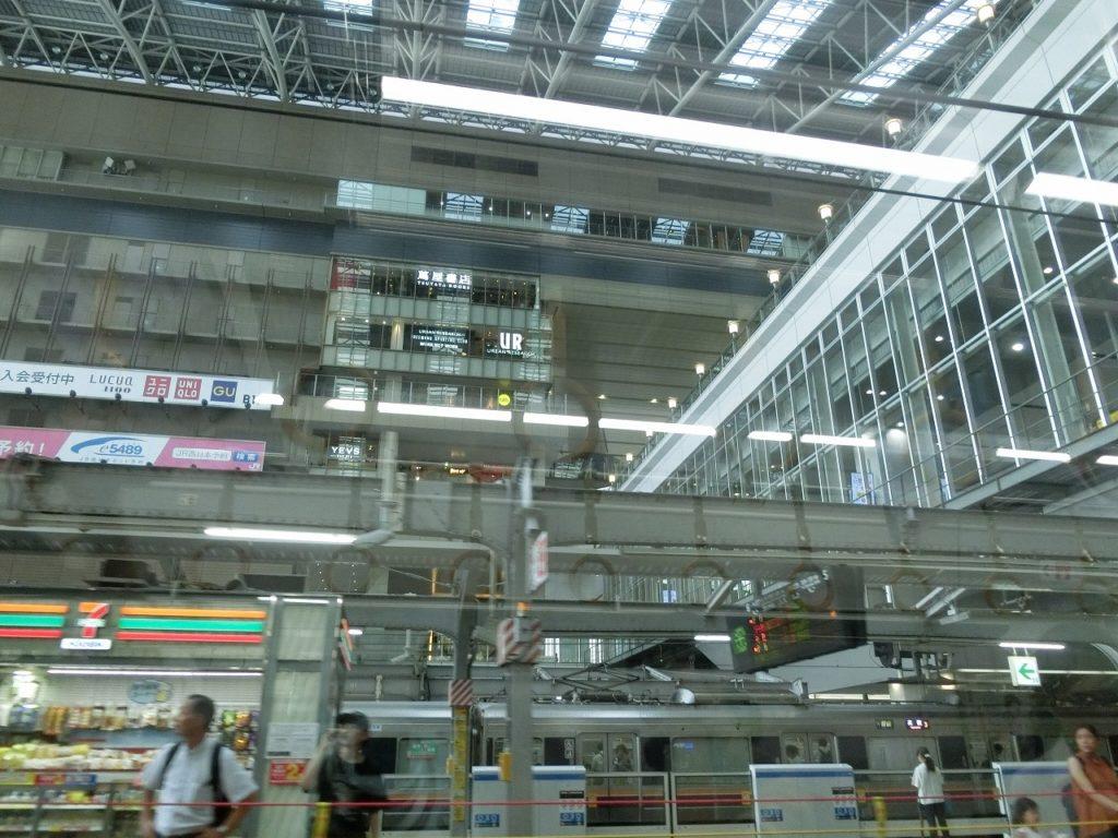大阪駅と駅ビル