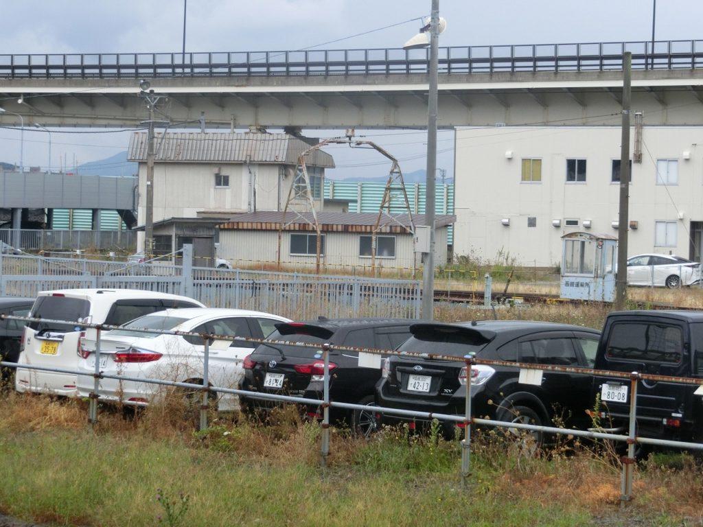 函館駅構内にひっそりと残る転車台