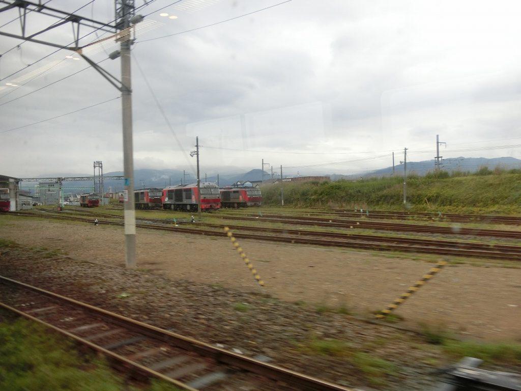 五稜郭付近のDF200形ディーゼル機関車