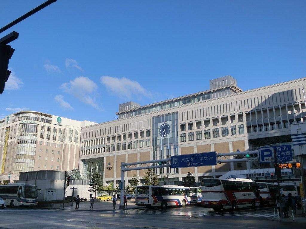 札幌駅のビル