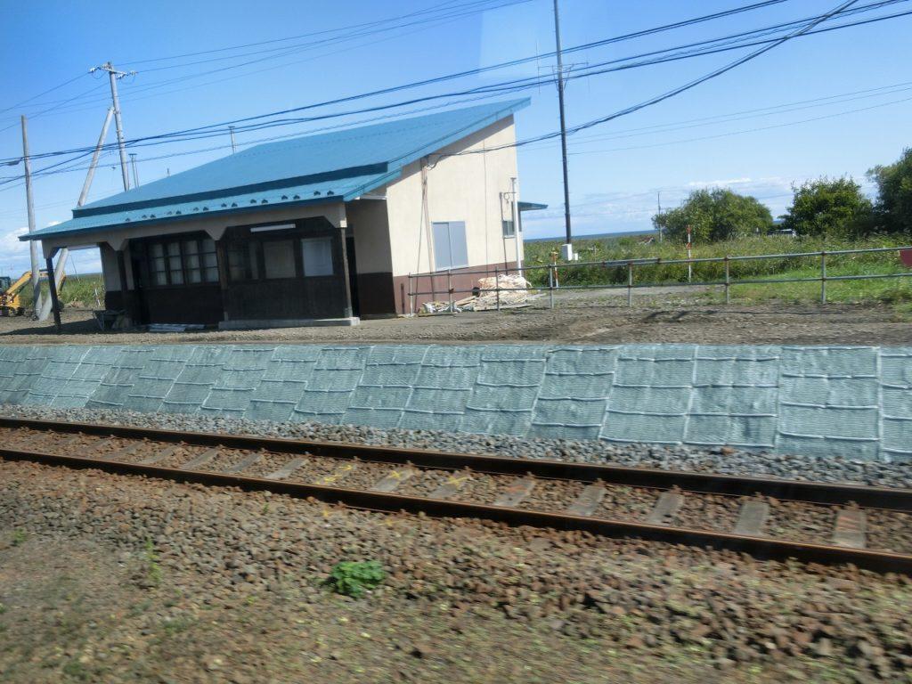 根室本線の廃止された駅跡