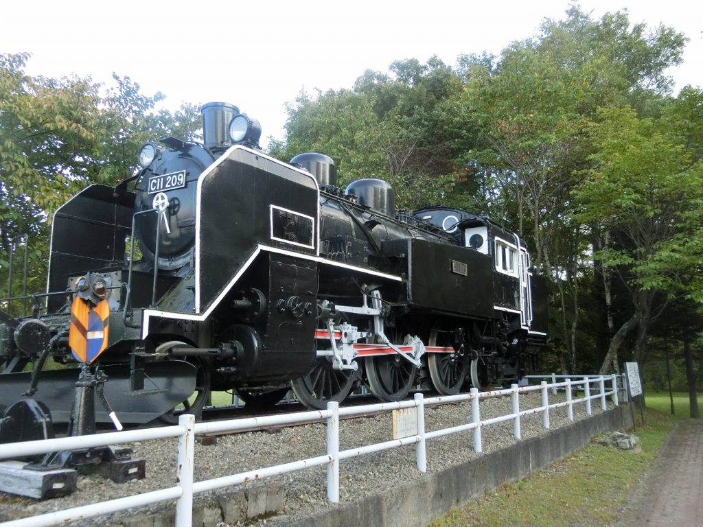 標津線で活躍したC11形蒸気機関車