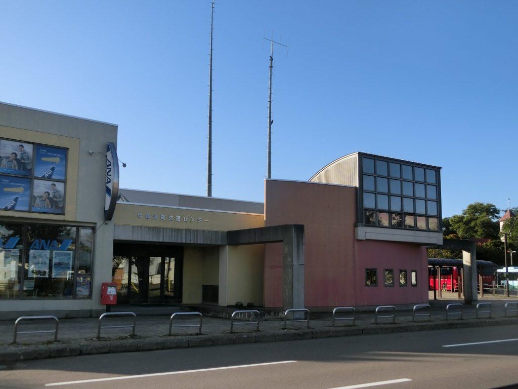 中標津のバスターミナル