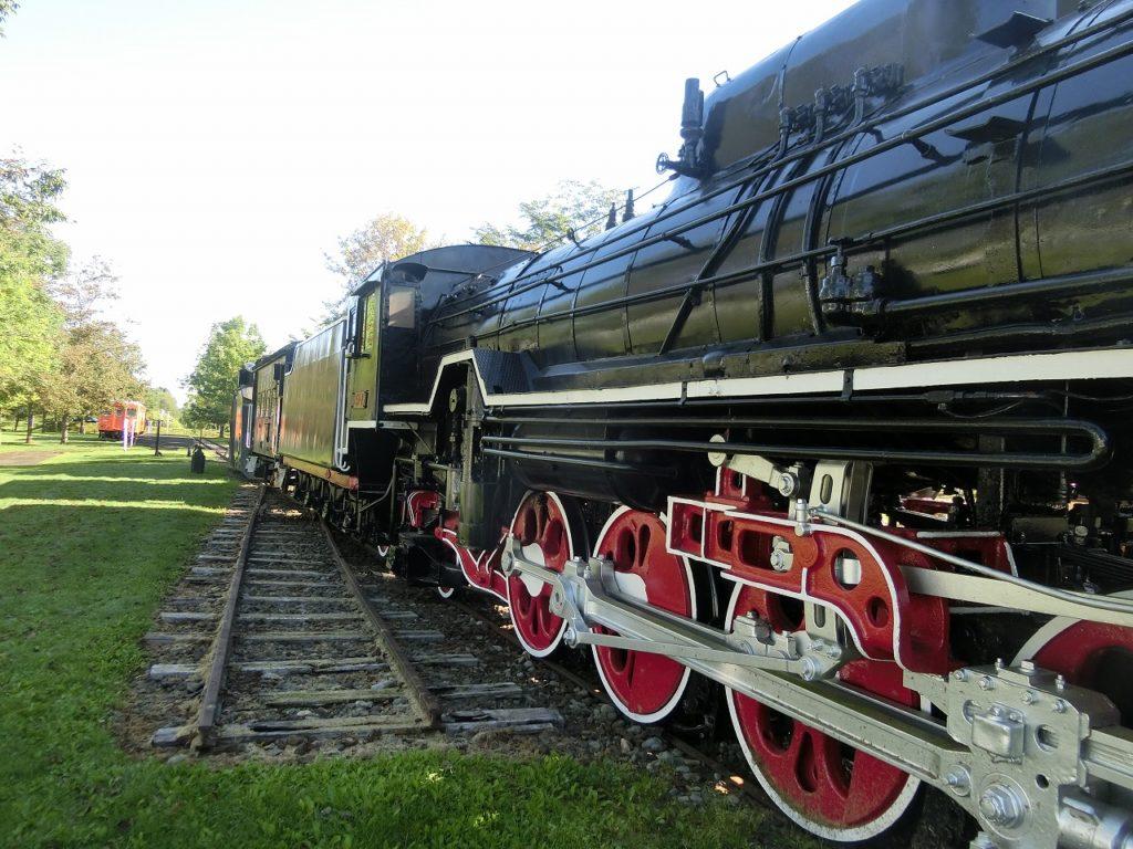 別海町鉄道記念公園のサハリンから帰って来たD51形蒸気機関車