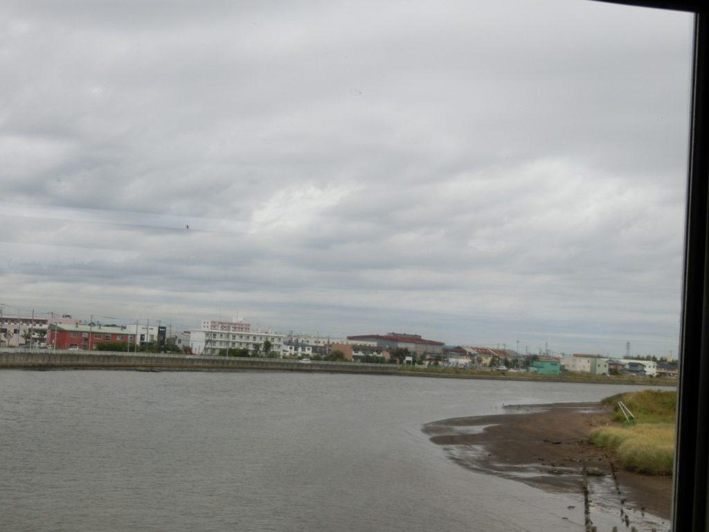 根室本線釧路~東釧路間で釧路川を渡る