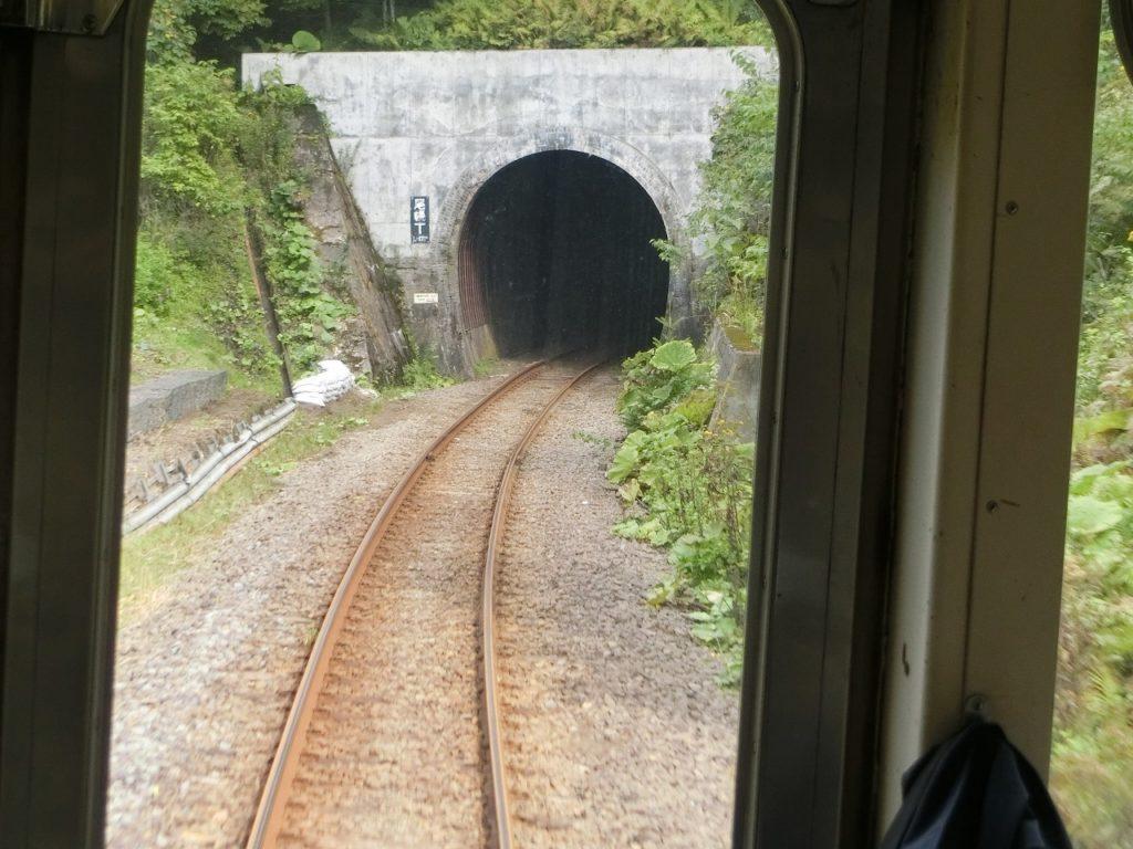 花咲線別保駅~上尾幌駅のトンネル