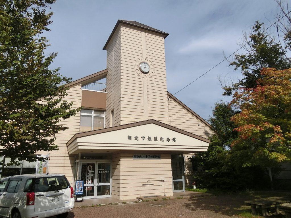 網走市鉄道記念館の建物