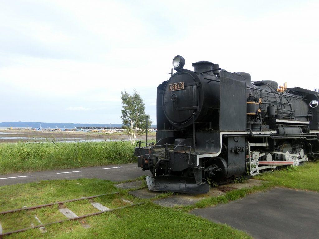 卯原内交通公園の蒸気機関車9600形