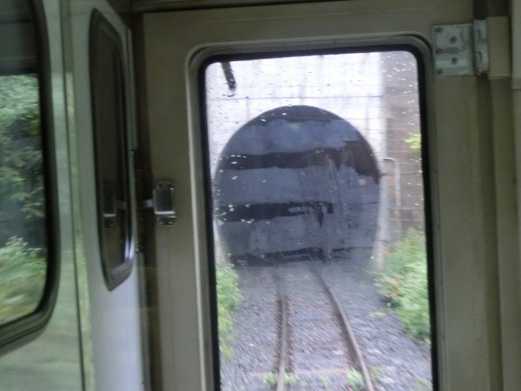 常紋トンネル入り口