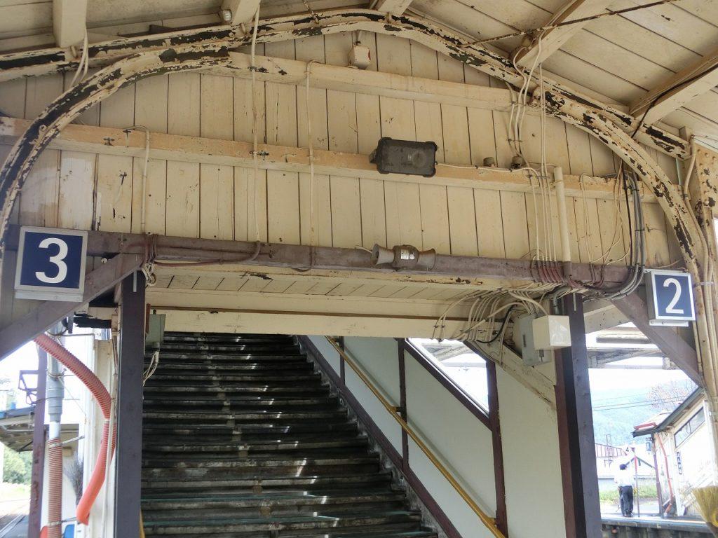 遠軽駅の跨線橋