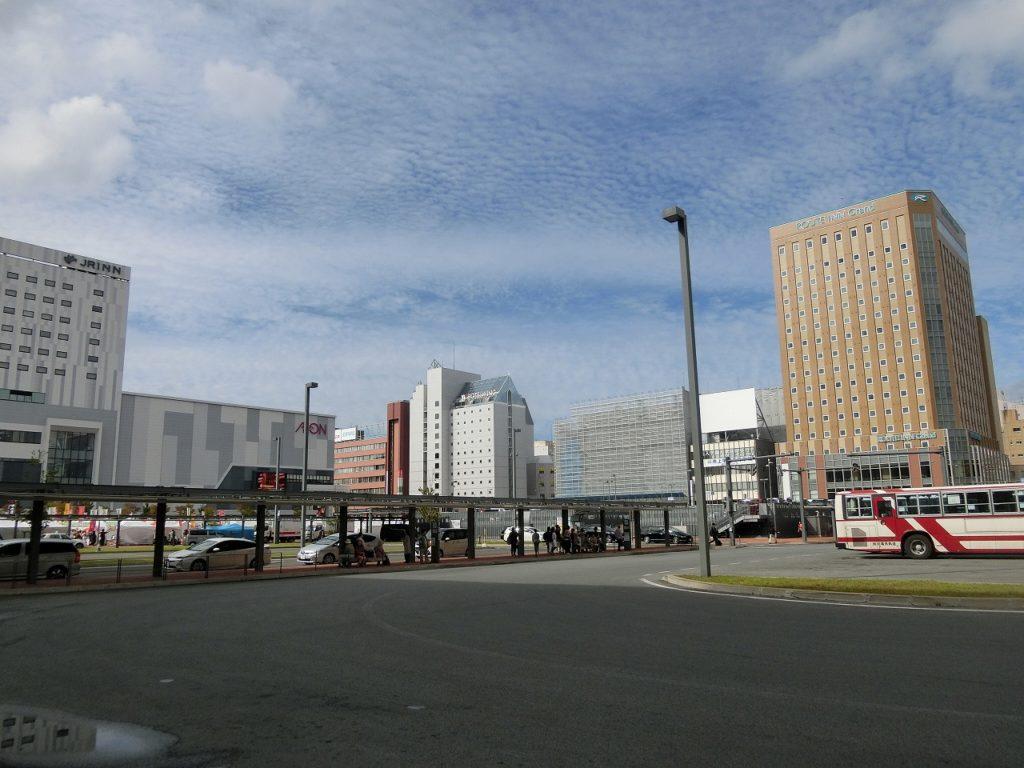 旭川駅の北口