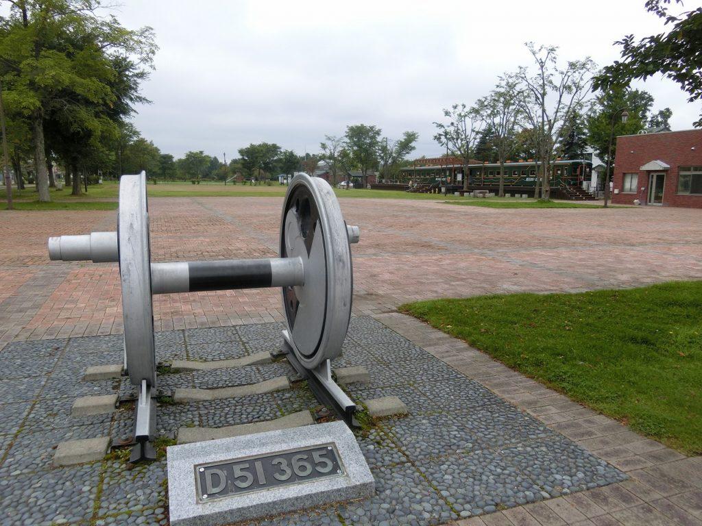 道の駅おこっぺのD51の動輪