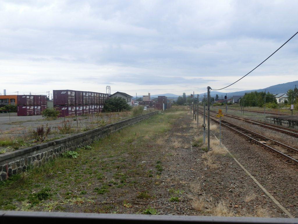 名寄駅の貨物駅、オフレールステーション。