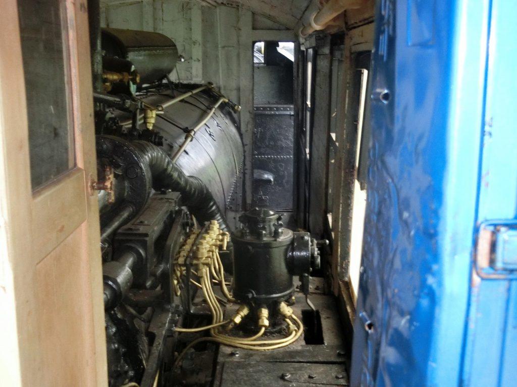 キマロキ編成のロータリー車の内部