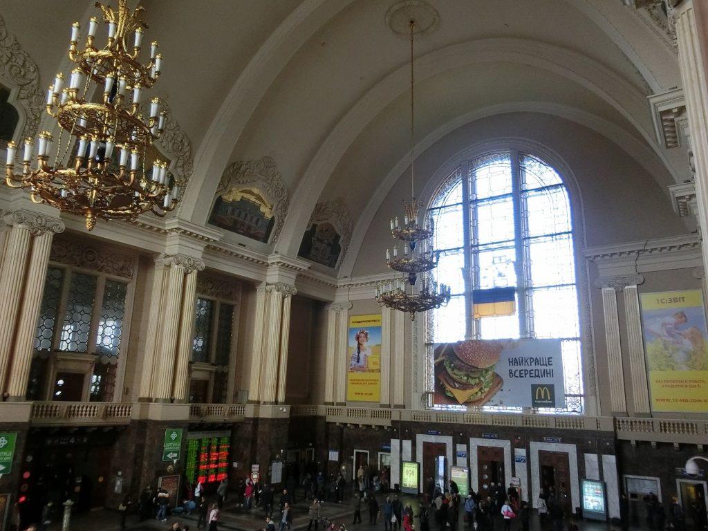 キエフ駅内部
