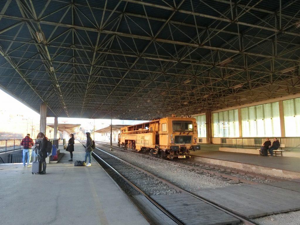 ボスニアヘルツェゴビナのモスタル駅
