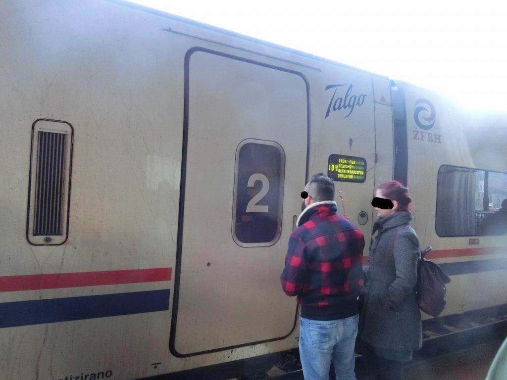 ボスニアヘルツェゴビナの特急列車