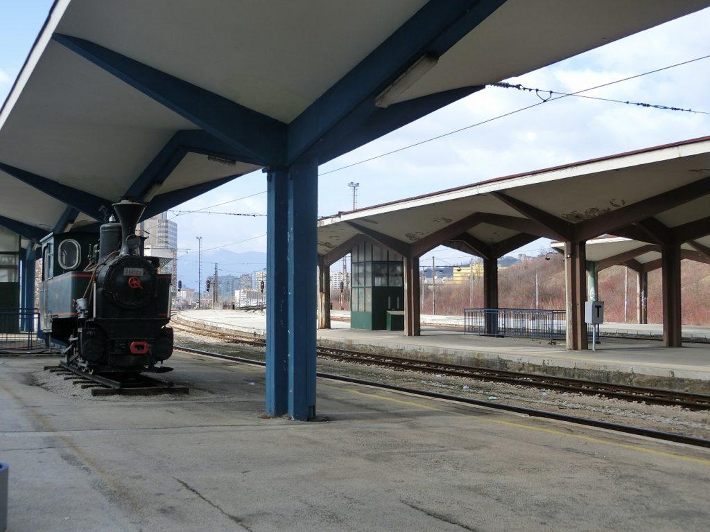 ボスニアヘルツェゴビナのサラエボ駅