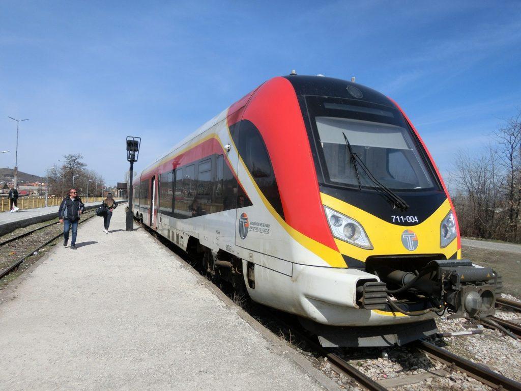 中国のメーカーによって製造された北マケドニア共和国鉄道の新型車両